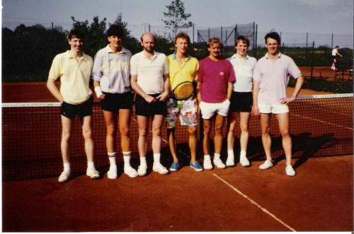 1. Herrenmannschaft 1987
