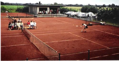 Tennisanlage Sommer 1988