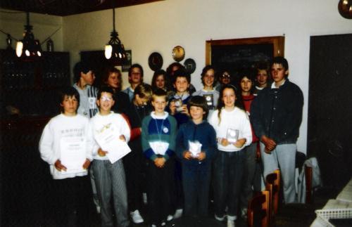 Vereinsmeisterschaften 1988
