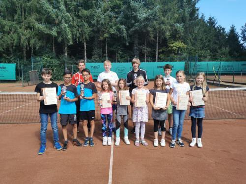 Vereinsmeisterschaften der Kinder und Jugendlichen 2021